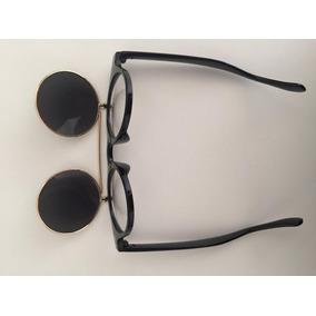 45702ceb1f87f Óculos Com Duas Lentes Para Sol E Descanso Raul Seixas Style