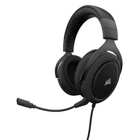 Headset Corsair Hs50 Gaming Green Ca-9011171-na