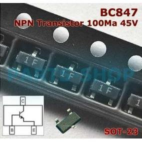 30pçs Transistor 1f Bc847b