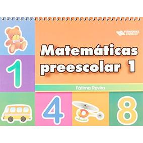 Libros Preescolar Matematicas 1 en Mercado Libre México