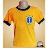 Camisa Brasil Copa 1982 - Camisa Brasil Masculina no Mercado Livre ... fb3bffa61fff1