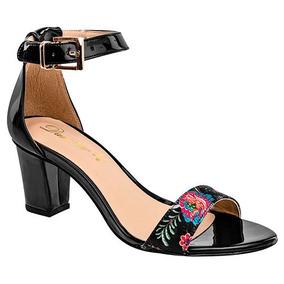 Zapatos Fiesta Tacon Damita Dama 6cm Sint Negro 24857 Dtt 89039c3c9a97