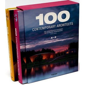 Livro 100 Contemporary Architects A - Z (box Com 02 Volumes)
