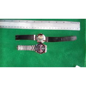 #31 Lote De 2 Relógios De Pulso Feminino - Funcionando