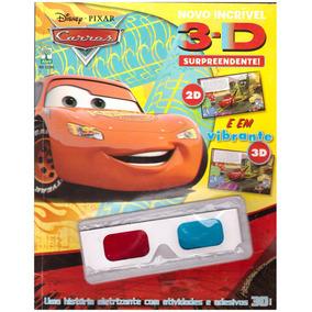 Revista Disney Carros 3d - Edição 1