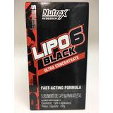 Termogênico Lipo 6 Black Ultra Concentrado Nutrex 120 Cáps