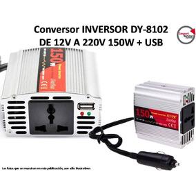 Conversor Adaptador 12v A 220v Inversor Dy8102 Usb 150w