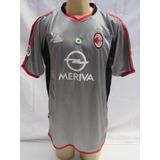 8854e4f75d Camisa Milan 2003 04 - Camisas de Futebol no Mercado Livre Brasil