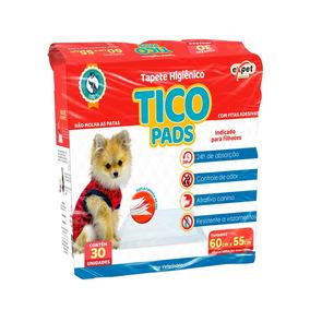 Tapete Higiênico Expet Para Cães Tico Pads - 30un