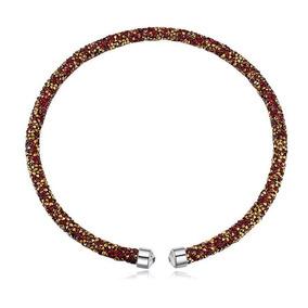 Collar Con Cristales, Ocean Heart Oh17-92