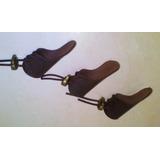 Kit 3 Dedeiras Proteção Pescaria Arco Flecha Couro Legítimo