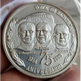 Medalla De Plata Francisco Villa Toma De Zacatecas a916664ef26