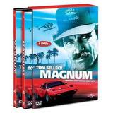 Magnum 3ª Temporada - Box Com 6 Dvds - Tom Selleck - Lacrado