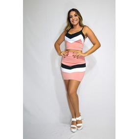 092a90878 Conjunto Cropped 3d Tamanho P - Camisetas e Blusas para Feminino no ...