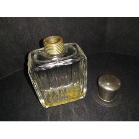 Perfumeiro Cristal Tampa Em Prata 90