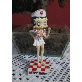 Betty Boop Enfermeira Miniatura Colecionável P/ Decoração