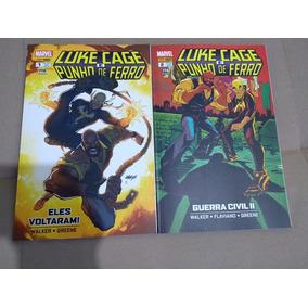 Luke Cage E Punho De Ferro 2 Volumes Panini