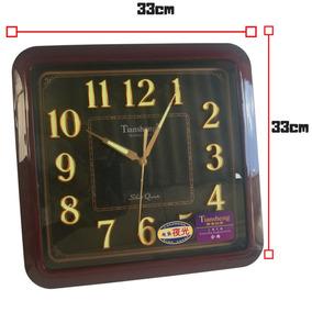 10aeb16c689 Relógio De Parede Sala De Estar Tem Vídeo. R  99