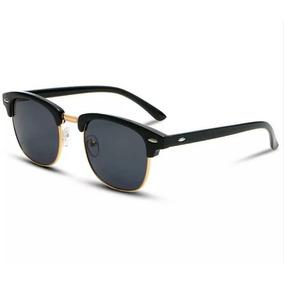 1d4fa0ccdc144 Óculos De Sol Feminino Masculino Clubemaster Clássico Quadra