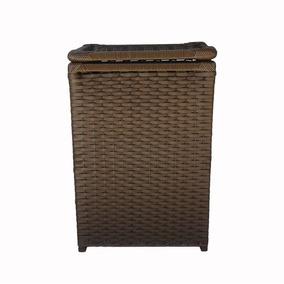Kit C/ 2 Bolsa Caixa 30x30x20 E 1 Cesto Roupas 40x30x60 Arg