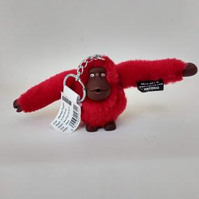 Chaveiro Macaco Kipling Monkeyclip S Vermelho Original