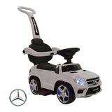Caminador Con Manija Mercedes Benz Mp3 Luces Y Sonido