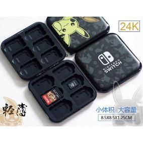 Case Nintendo Switch Proteção Porta Jogos Edição Diferente