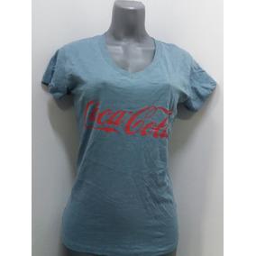 Franelas Dama Coca-cola Tri-blend Talla S - Gris c1b109adf38