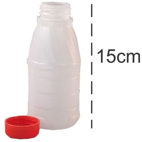Garrafa Plástica C/ Tampa 300ml W L Caxiense C/200 (2pct)