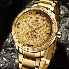 fc7ba6d69ad Relogio Inox Dourado Barato - Joias e Relógios no Mercado Livre Brasil