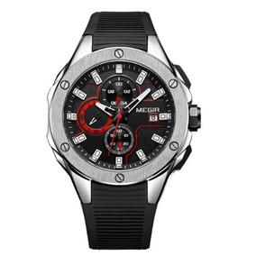 Relógio Masculino Megir 2053 Esportivo - Pronta Entrega