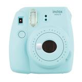 Câmera Instantânea Instax Mini 9 Azul Aqua - Fujifilm