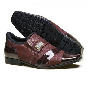 Sapato Social Masculino 360 Em Couro Com Textura 1980c872