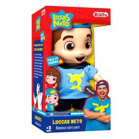 Boneco Com Som Luccas Neto 27cm Lançamento - Rosita