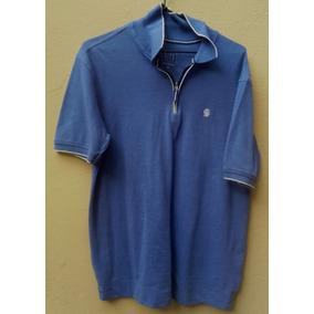 Camisa Siberian Polo G Semi-nova 50% Algodão Azul 7c1f3cc351f68