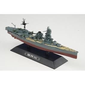 1:1100 Navio De Guerra Japonês Ise 1944 - Eaglemoss 19cm