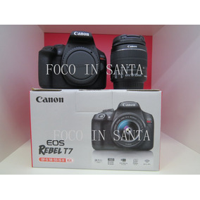 Camera Canon Rebel T7 Com 18-55 Is Ii+sd 16gb Pronto Entrega