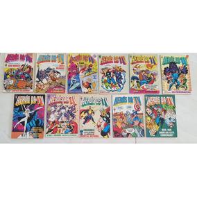 Lote Heróis Da Tv Marvel Formatinho Editora Abril