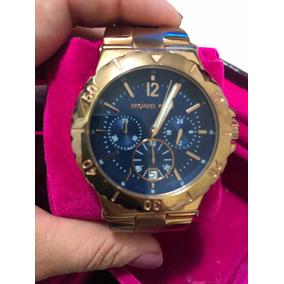 Relogio Michael Kors Azul Marinho - Relógios no Mercado Livre Brasil 99099c9d10