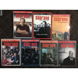 Família Soprano Série Completa. Dvds Originais. Frete Grátis