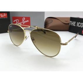 9244d2064fd20 Oculos De Sol Ray Ban Aviator Titanium Rb8125 Lancament 2019