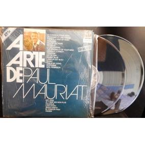 Antigo Lp A Arte De Paul Mauriat 1988 - Albúm Duplo