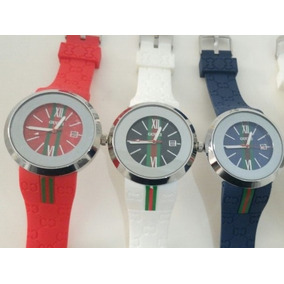 8bc4eb89864 Kit 3 Relógios De Pulso Gucci Unissex Atacado (frete Gratis)