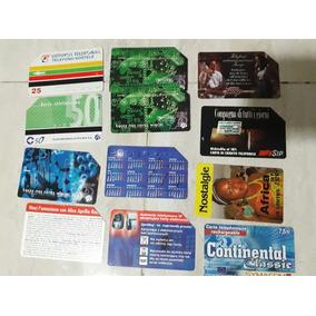 78 Cartões De Celular E Telefone Extrangeiros Usados