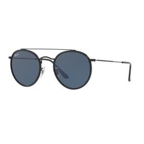 60f05315368ed Oculos De Sol Ray Ban Rb3647n 002 r5 51mm Preto Lente Cinza