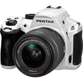 Pentax K-30 16.3 Mp Digital Slr Cámara - Blanco (kit W Da L