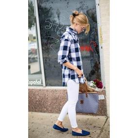 Camisa Franela American Eagle 100% Original Ann-mazing Soft