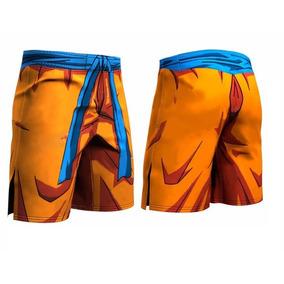 Shorts Leggins Gokú Vegeta Dragon Ball Gym Lycra Crossfit