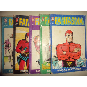 Lote Fantasma 1 2 3 4 5 Editora Saber Edicao Historica 1993