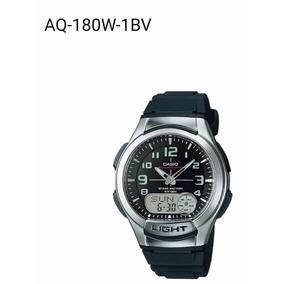 Relógio Casio Ref: Aq-180w-1bdvf Preto
